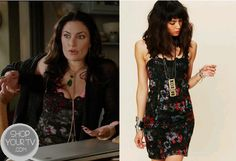 Shop Your Tv: Witches of East End: Season 1 Episode 4 Wendy's Black Print Dress