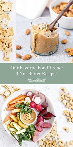 These high-protein snacks provide the same visual appeal as a decadent meat and cheese board but are a little more New Year's resolution friendly. Butter Recipe, Nut Butter, Harry And David, High Protein Snacks, Easy Entertaining, Meat And Cheese, Food Trends, Charcuterie Board, Cooking Classes