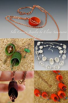 Silk Cocoon Jewelry | by _shimshoni