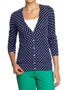 Old Navy Women's Button-Front Cardis ~ I love cardigans, I think I'm a bit obsessed.