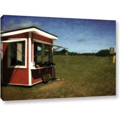 ArtWall Kevin Calkins Cherries By the Lug Gallery-Wrapped Canvas, Size: 24 x 36, Green
