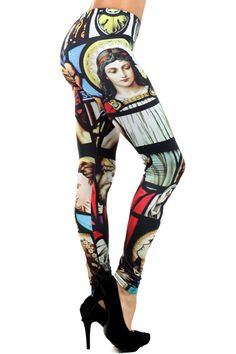 MICHAEL ANGELO High Waisted ANGEL Painting by FashionCorporation, $32.00