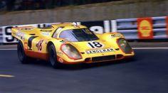 Le Mans 1970 . Van Lennep / Piper , Porsche 917K.
