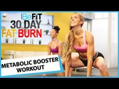 ▶ 30 Day Fat Burn: Metabolic Booster Workout - YouTube. Gotta try this! :)