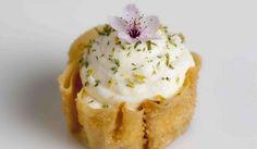 Custard cream pie Photography by Joakim Blockstrom I Love Food, Good Food, Cream Pie, Restaurant Bar, Nom Nom, Cheesecake, Deserts, Dishes, Meals