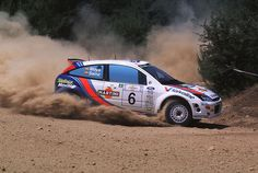 Ford Focus WRC of Carlos Sainz at 2000 Acropolis Rally