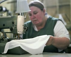 Egyptian Cotton Underwear in production.