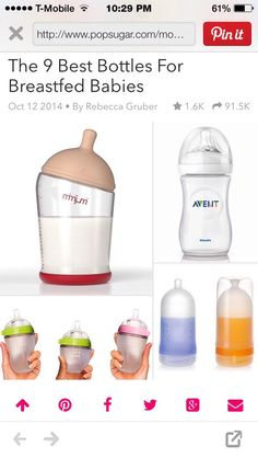 ❤️The Best Bottles To Breastfeed❤️ Like 4⃣ More #TipIt
