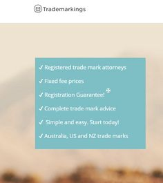 Trademarkings is a trademarking attorney firm leads by leading trademark lawyers Melbourne which undertaking trademark registration processes in Australia and New Zealand. Reach us https://www.trademarkings.com.au/terms