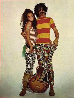 Claudia Cardinale and Frank Zappa by Eupalinos Ugajin