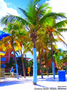 Junkanoo Beach. Nassau, Bahamas.