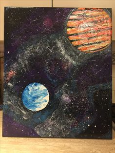 Space Paintings, Celestial, Space, Outdoor, Art, Floor Space, Outdoors, Art Background, Paint