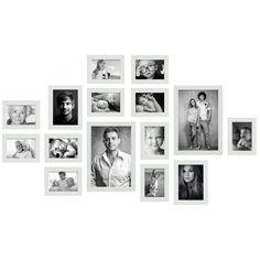 Fotowand kant & klaar - 15 fotokaders - S41VH1 WALL1