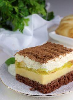 Polish Desserts, Polish Recipes, Cookie Desserts, Potica Bread Recipe, Sweets Cake, Pumpkin Cheesecake, Homemade Cakes, No Bake Cake, Cake Recipes