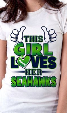 This Girl Loves Her Seahawks!!! You got that right!!!! #GoHawks #SeahawksSB50 #SuperBowl3Pete