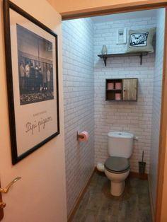 D coration des toilettes sur pinterest design int rieur de maison remodelation de toilettes - Deco wc grijs ...