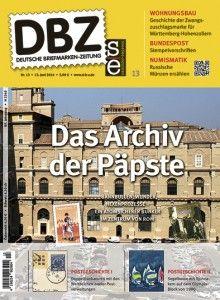 Morgen neu: DBZ 13/2014  http://d-b-z.de/web/2014/06/12/morgen-neu-dbz-132014-briefmarken/