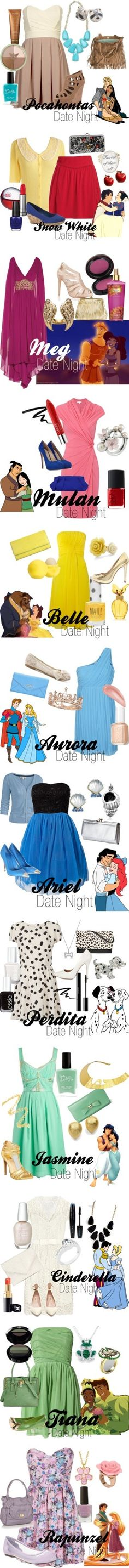 """""""Disney Date Night"""" by amarie104 on Polyvore"""