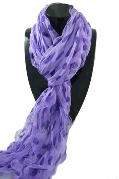 can never have enough purple scaves to wear with my black, gray, white and purple tops