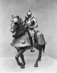 Armor, c. 1548, Kunz Lochner (German, ca. 1510–1567), German (Nuremberg), Etched steel, leather