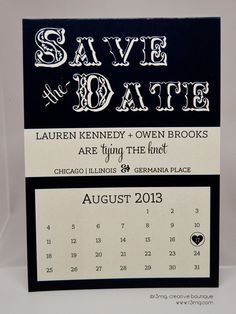 Wedding Save the Date  Rustic Calendar  Vows by r3mg   by r3mg, $87.50
