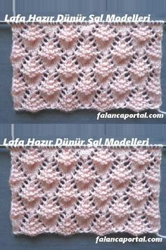 You are in the right place about lochmuster sitricken grobes Here we offer you the most beautiful pi Knitting Stiches, Easy Knitting Patterns, Lace Knitting, Knitting Projects, Crochet Stitches, Stitch Patterns, Crochet Patterns, Gilet Crochet, Baby Blanket Crochet