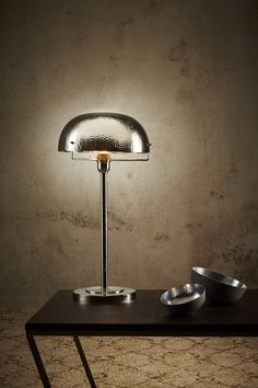 Verner Table Lamp - Nickel