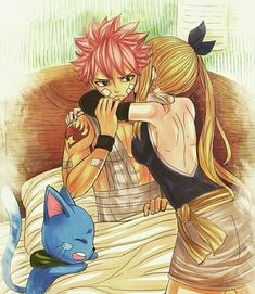 Read 51 from the story -Fairy Tail -Imagenes nalu 😀 by (Abril) with 361 reads. Fairy Tail Meme, Fairy Tail Lucy, Fairy Tail Nalu, Fairy Tail Fotos, Arte Fairy Tail, Fairy Tail Comics, Fairy Tail Family, Fairy Tail Guild, Fairy Tail Couples