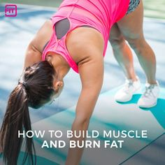 Getting fit and healthy requires you to build muscle while burning fat. In this article we discuss the importance of eating right, with strength training..