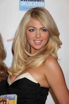 Kate Upton hair amd makeup. Gorgeous
