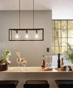 Verlichting voor aan eetkamer tafel (fabrikant: Luminello ...