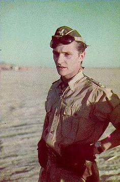Hans-Joachim Marseille in the African desert