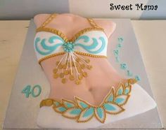 Belly dancer cake