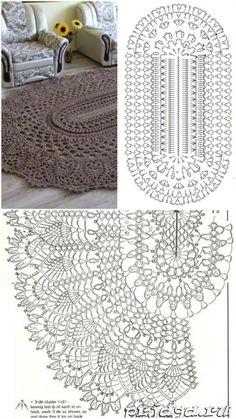 Granny pods cost Most up-to-date No Cost Carpet Pattern flower Popular If you should be new to the game of home dcor, then you definitely might have looked for various t Crochet Doily Rug, Crochet Doily Diagram, Crochet Rug Patterns, Crochet Carpet, Crochet Mandala Pattern, Crochet Tablecloth, Crochet Flowers, Crochet Coaster, Pattern Flower