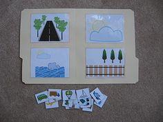 Fumbling Through Parenthood: File Folder Games/Transportation Autism Activities, Autism Resources, Language Activities, Educational Activities, Classroom Activities, Preschool Activities, File Folder Activities, File Folder Games, File Folders