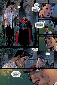 Superman #207 by Jim Lee