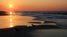 Sunrise Surf Loop - Filmed at Gulf Shores, Alabama by Kenneth Keifer Ocean Waves, Sea Shells, Lighthouse, Natural Beauty, Sunrise, Surfing, Landscape, Gallery, Sunsets
