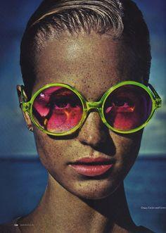 Want those glasses!
