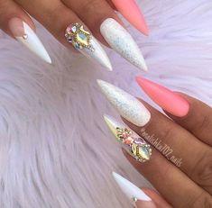 Beautiful nail art designs ideas for brides21