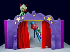 How to make your own puppet theater