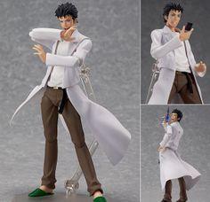 Figma 196 Rintarou Okabe Steins Gate Anime Action Figure Max Factory Japan