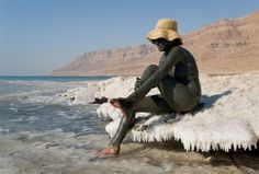 Dead Sea - the lowest point on Earth would love to do this!