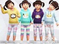 Print Leggings  Found in TSR Category 'Sims 4 Toddler Female'