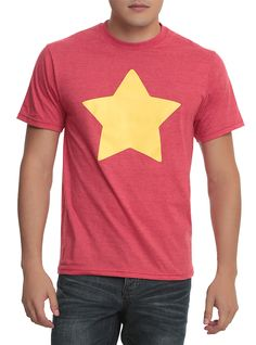 Heather red Steven Universe star shirt - just like the one Steven wears! 50% 7f84c4169765f