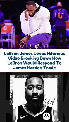 LeBron Loves Hilarious Video Breaking Down Harden Trade It looks like LeBron James got a good laugh of a video breaking down how he'd respond to the James Harden trade. #sportsnews #ballislife #hilarious #nba