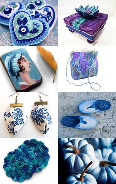 What's your favorite blue? by Maor Zabar on Etsy
