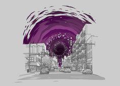 """Event Horizon"" - Threadless.com - Best t-shirts in the world"