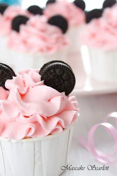 Mini Mouse Cupcakes party ideas