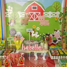 Animalitos de la granja . Farm Animals Birthday Party Ideas | Photo 1 of 18