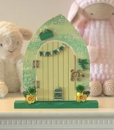 Rustic brick effect fairy door makes a fabulous gift for a child or adult